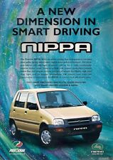 Perodua Nippa 850 2000-01 UK Market Leaflet Sales Brochure