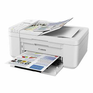 Canon PIXMA TR4551 4-in-1-Multifunktionsdrucker Kopierer Scanner WLAN ADF Weiß