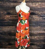 ZARA BASIC Floral Summer Dress Size Small