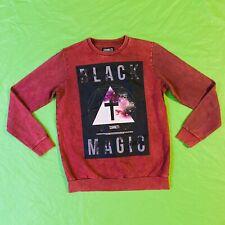 Sonetti Size XL Pullover Jumper Black Magic Cross Illuminatti Print