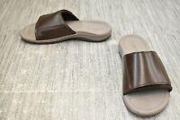 **VIONIC Stanley Slide Sandal, Men's Size 8, Brown