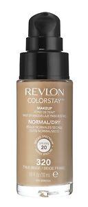 Revlon ColorStay Makeup Foundation for Normal/Dry Skin - 320 True Beige