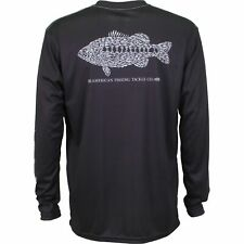 AFTCO Rough Metal Performance Fishing UPF 50 Shirt - Pick Color/Size-Free Ship