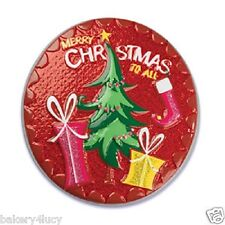 MERRY CHRISTMAS TO ALL PRESENTS CAKE POP TOP PARTY DECORATION FAVORS BIRTHDAY