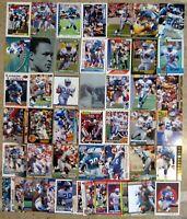 Barry Sanders - Detroit Lions - HOF - 50ct Card Lot