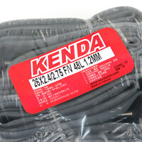 Kenda 26 x 1.9//2.125 Inner Tube FV NI Presta Valve For Mountain Bike MTB 1PK