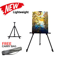 Artist Folding Painting Easel Sketch Adjustable Tripod Display Stand Floor Bag