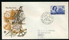 Australia 1963 4/- Navigator - Wcs Fdc