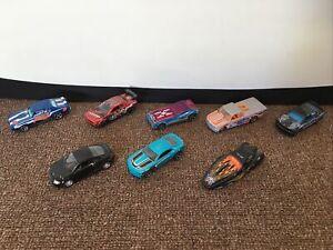8 Die Cast Cars - Small - Pontiac - Dodge Challenger