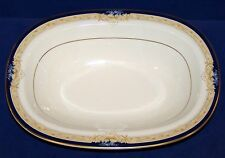 "LOVELY NORITAKE NEW LINEAGE II BONE CHINA 4762 PALESTRA 10"" OVAL VEGETABLE BOWL"