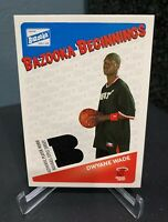 2003-04 TOPPS Bazooka Beginnings Rookie Dwyane Wade RC #BBE-DW Miami Heat RARE
