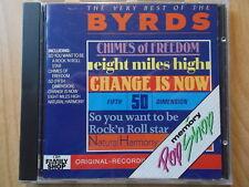 THE BYRDS  CD: THE VERY BEST OF (POP SHOP; WIE NEU)