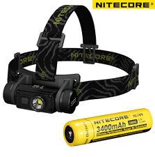 Nitecore HC60 1000LM CREE XM-L2 U2 USB Rechargeable Headlamp+3400mAh Battery