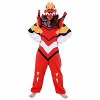 SAZAC Evangelion EVA-02 Costume Cosplay Kigurumi Party w/ Tracking NEW