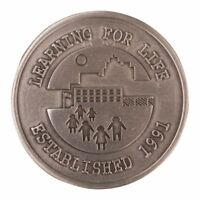 BOY SCOUT COLLECTORS LEARNING FOR LIFE PEWTER DIECAST OFFICIAL CHALLENGE COIN