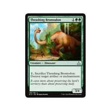 Magic the Gathering MTG - Rivals of Ixalan - 4x thrashing brontodon x4 Lot