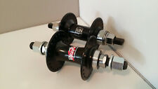 Front and rear Sun and Novatec BMX hubs 48 hole spoke14mm axle brand new