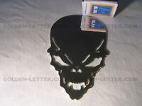new guaranteed to last a lifetime #q1j Metal Chrome Skull