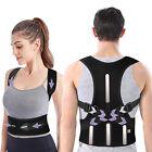 Men Women Adjustable Posture Corrector Back Brace Shoulder Support Trainer Belt