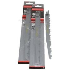 Reciprocating Sabre Saw Blades R1021L  240mm Long High Carbon Steel HCS 10 Pack