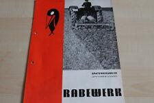 144123) Rabewerk Spatenkrümler Spatenrollegge Prospekt 01/1972