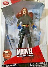 "Black Widow Disney Store 10"" Figurine Marvel Ultimate Series New"