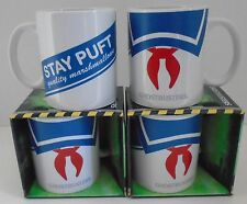 """GHOSTBUSTERS """"STAY PUFT"""" Coffee mug 11oz ceramic Stay Puft Marshmallow Man NEW"""