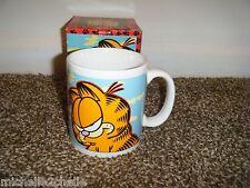 Vintage Oz GARFIELD I Don't Do Perky Coffee MUG Cup NIB New in Box #M1320