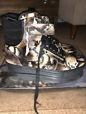 """Android Homme Mens Shoes Sz 10 'Rare' Worn 1x """"Cow Skin"""""""