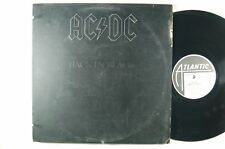 AC/DC Back In Black  LP  RARE RL On Both Sides MASTERDISK MALCOLM YOUNG