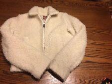 Vintage ANNE KLEIN CHILDREN Faux Fur Jacket L XL