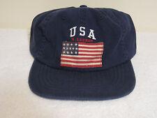 Polo Ralph Lauren American Flag Hat NWT Navy