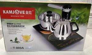 KamJove Intelligent Inductive Coffee Tea Electric Cooker Teapot Set T-800A Open