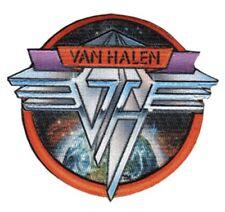 Van Halen Space Logo Woven Patch V009P Ac/Dc Poison Thin Lizzy
