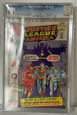 JUSTICE LEAGUE OF AMERICA #97 - CGC 9.6 - 1ST SARGON THE SORCERER IN SILVER AGE