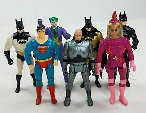 Vintage 80's 90's Action Figure Lot Batman Ghostbusters Robocop Joker Superman