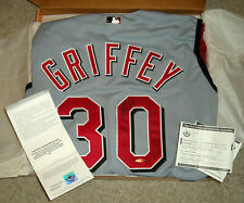 Upper Deck Authenticated Signed Reds jersey Ken Griffey JR auto autograph COA