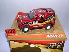 QQ 50305 Ninco Mitsubishi Pajero Jutta #205 Dakar