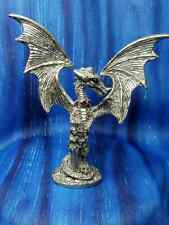 Dragon Chained Red Crystals Pewter Figurine Fellowship Foundry Us Limited
