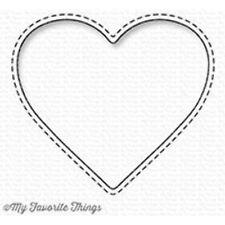MFT/mis cosas favoritas-Stitched Heart Peek-a-boo Ventana-Die-Namics