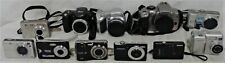 Lot of 11 Digital Cameras (Sony, Canon, Olympus)