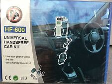 UNIVERSAL PHONE HANDSFREE CAR KIT - USE YOUR PHONE WITHIN THE LAW - BNWT