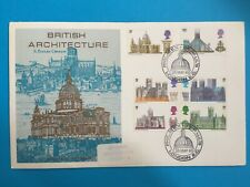 1969 FDC - BRITISH ARCHITECTURE - ST PAULS CATHEDRAL - PHILATEX POSTMARK