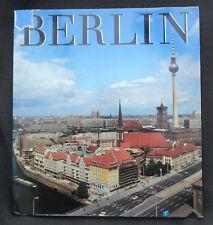 "6280 EAST GERMAN/DDR/GDR Cold War LARGE "" EAST BERLIN "" Book cir 1987"