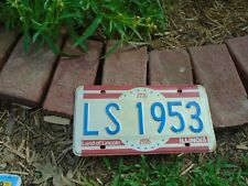 Illinois bicentennial Vanity License Plate LS 1953, personalized