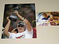 Craig Krenzel #16 signed Ohio State Buckeyes 8x10 photo MVP OSU PROOF
