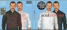 MIGUEL BOSE' 2 CD PAPITWO Tiziano Ferro Jovanotti Alejandro Sanz Ana Torroja