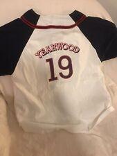 Trisha Yearwood Softball Jersey - White/Red/Blue - Size L