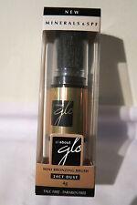 All About Glo 24ct Dust Mini Bronzing Brush 4g Minerals & SPF BNIB