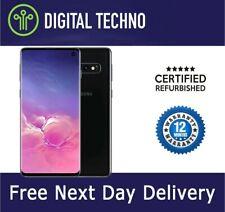 Samsung Galaxy s10-schwarz 128gb-Telefon Netzwerk entsperrt und SIM Free-Garantie